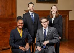 2019 Chief Residents (Ross Kristal, Bryan Brown, Alani Gregory, and Anna Zimmerman)