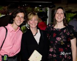 (l-r): Dr. Julie Rosenbaum, Dr. Lisa Sanders and Dr. Donna Windish