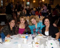 (l-r): At Graduation 2006 are Claire Winston, Janice Sanderson, Eydie Sirica and Denise Brennan.