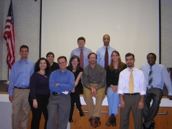 YPC class 2004 with Dr. Huot