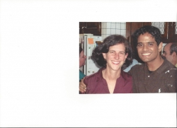 Deepak Thomas and Julie Rosenbaum